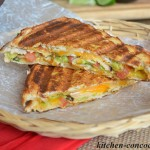 Spicy Southwestern Turkey Panini