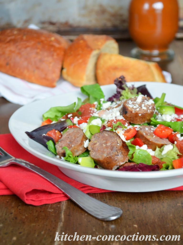 Sausage and Pepper Salad with Spicy Tomato Vinaigrette ...