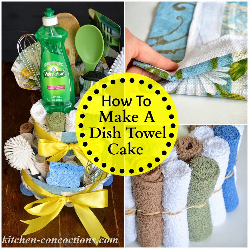 Creative Soap Ideas: Dish Towel Cake (Step-by-Step