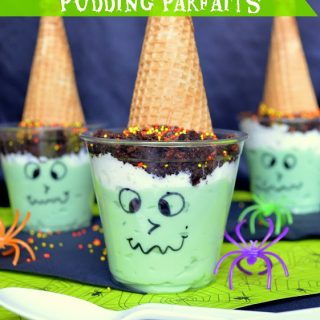 Witch Snack Pack Pudding Parfaits