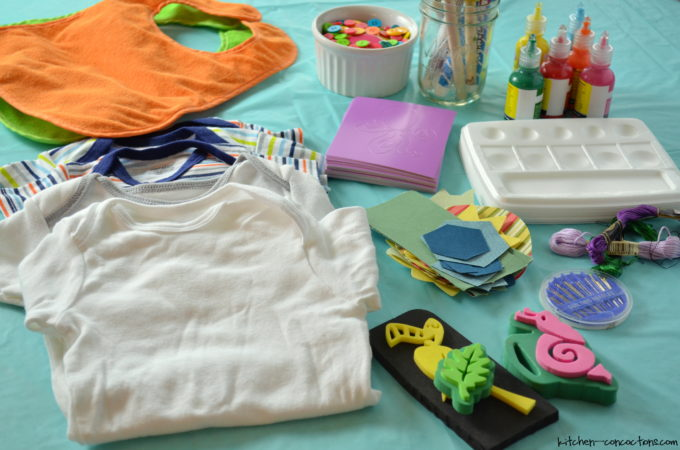 Baby Shower Ideas  Onesie Decorating