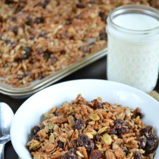 Seed and Raisin Granola