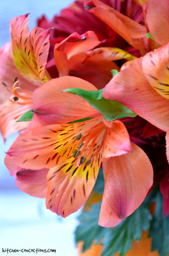 Pumpkin Flower Arrangement Tutorial