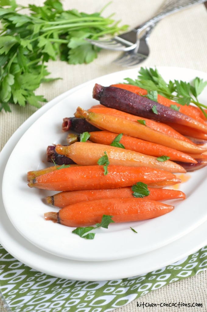 Glazed carrots are a classic holiday side dish! Try this kicked-up ...