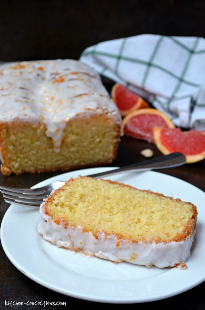 Grapefruit Olive Oil Pound Cake Recipe