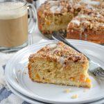 Peaches and Cream Coffee Cake