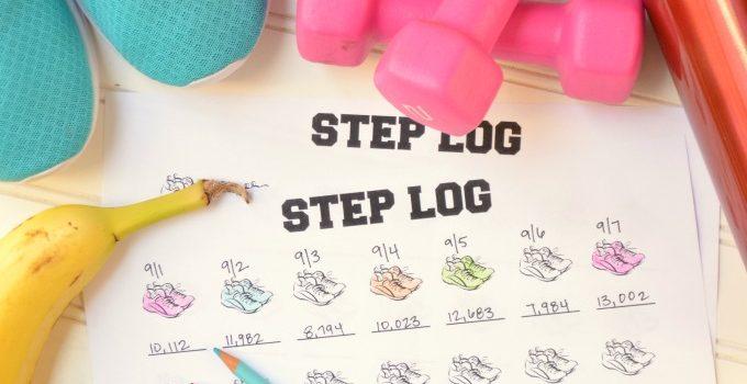 40 Ways to Get 10,000 Steps a Day {Plus Free Step Log Printable}