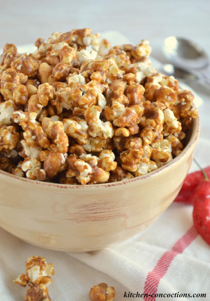 Spicy Cajun Popcorn - Kitchen Concoctions