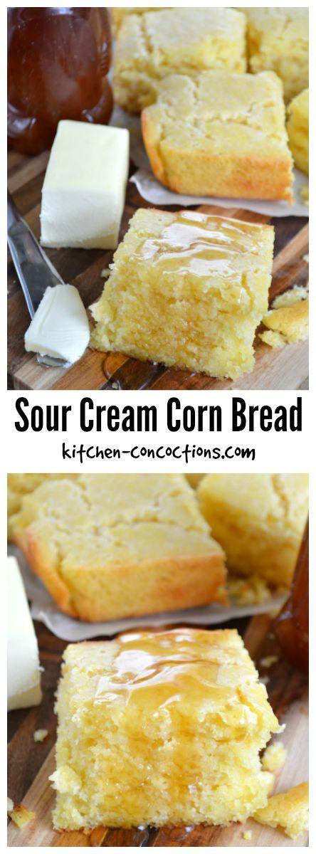 Sour Cream Corn Bread Kitchen Concoctions