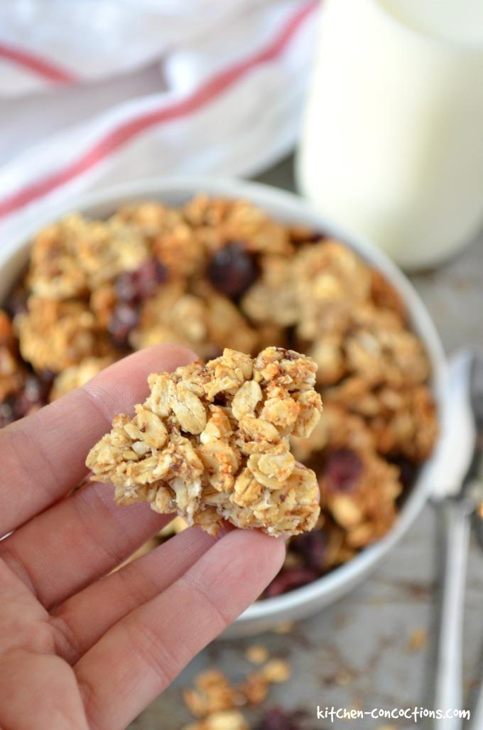 Maple Granola Recipe Smitten Kitchen