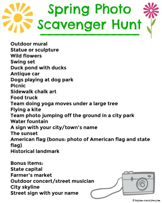 Office scavenger hunt list top car reviews 2019 2020 office scavenger hunt list spring photo scavenger hunt kitchen concoctions maxwellsz
