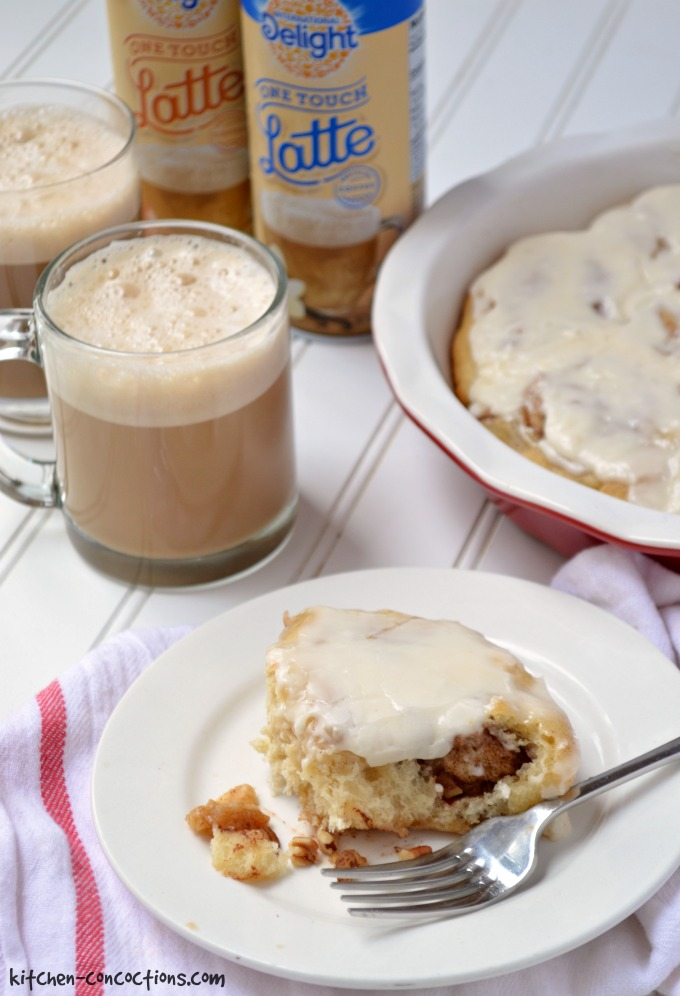 Maple Pecan Cinnamon Rolls - Kitchen Concoctions